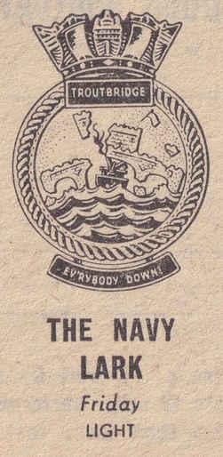 Navy Lark Troutbridge Crest