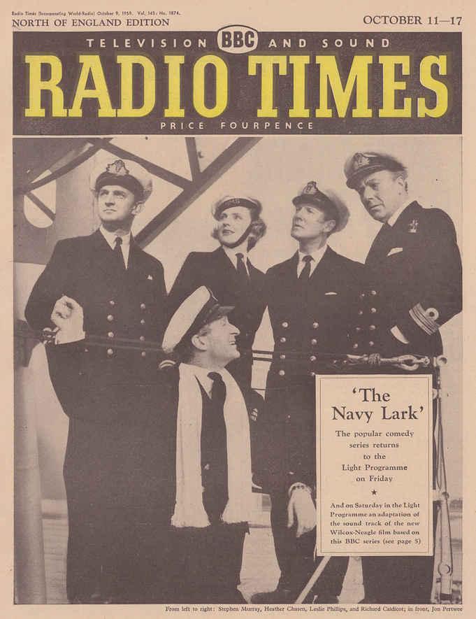 Navy Lark Radio Times Cover